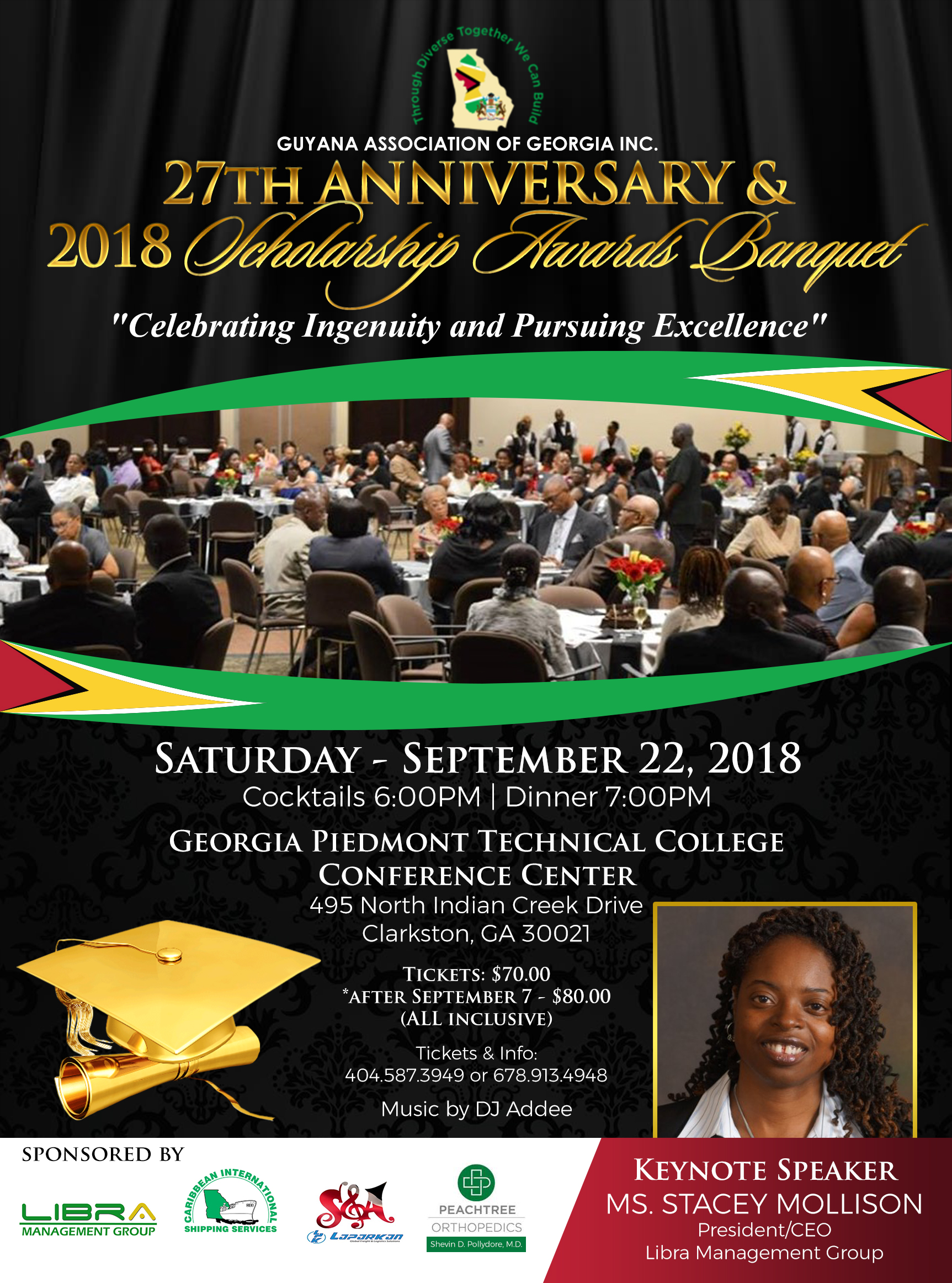 2018 scholarship banquet flyer 8 17 guyana association of georgia
